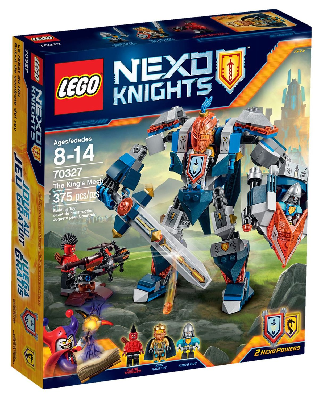 le robot du roi nexo knights