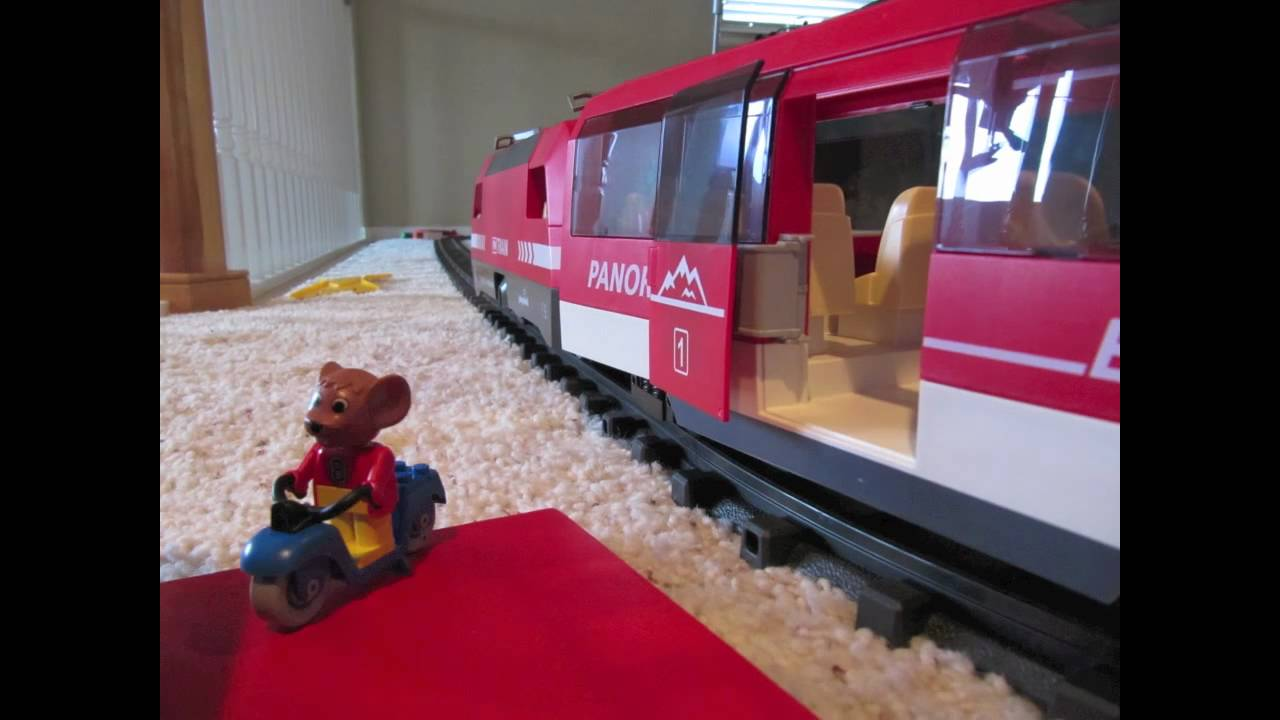 le train playmobil