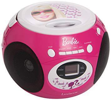 lecteur cd barbie