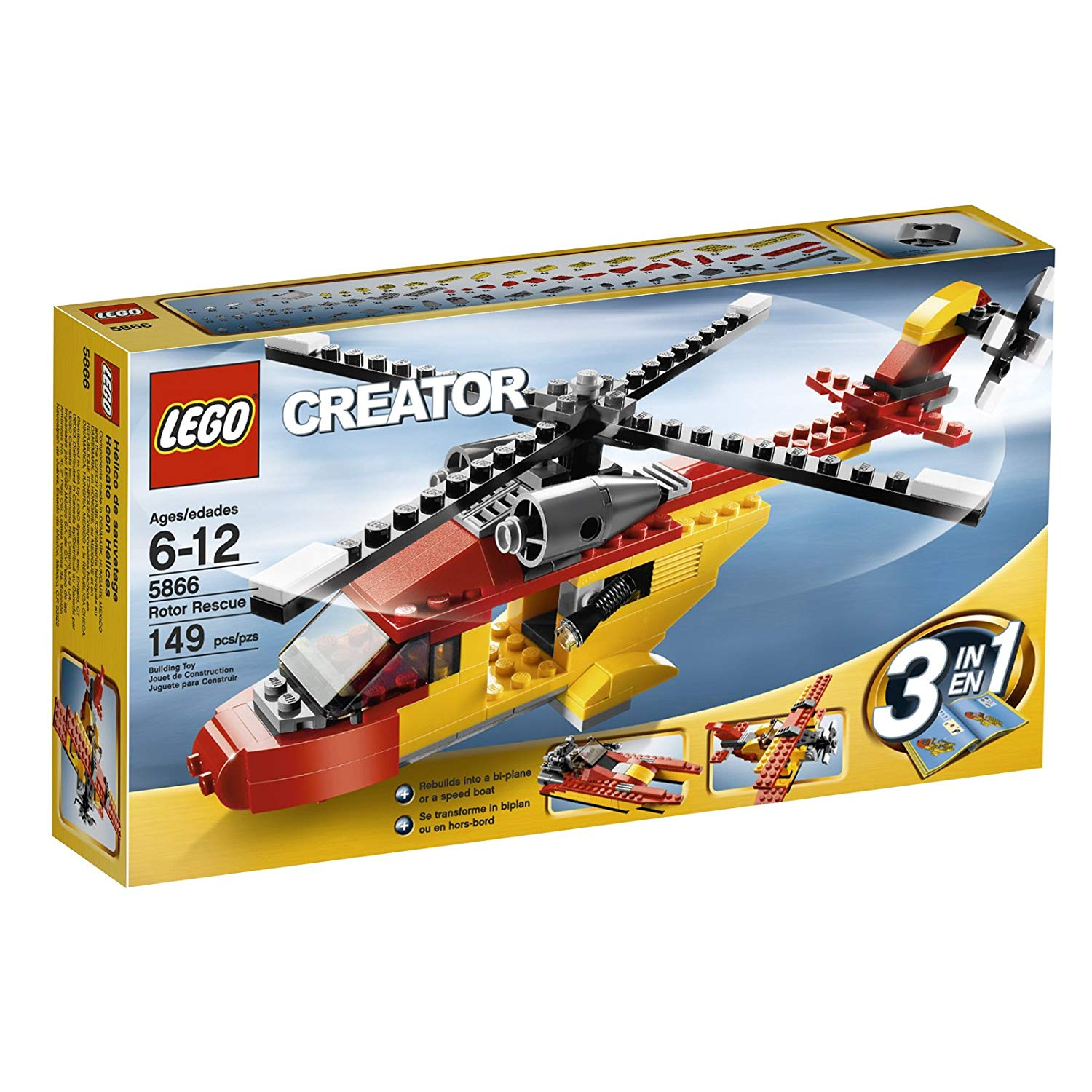 lego 3 in 1 helicopter