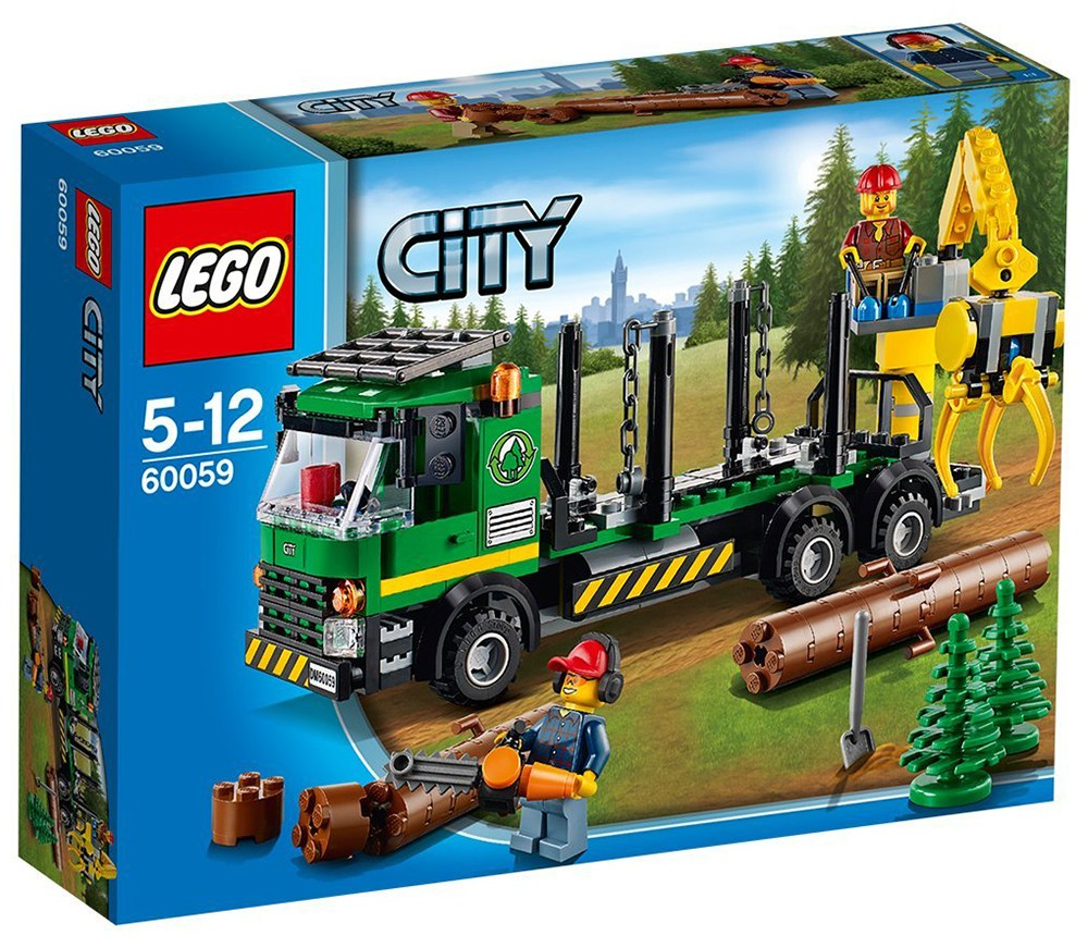 lego camion forestier