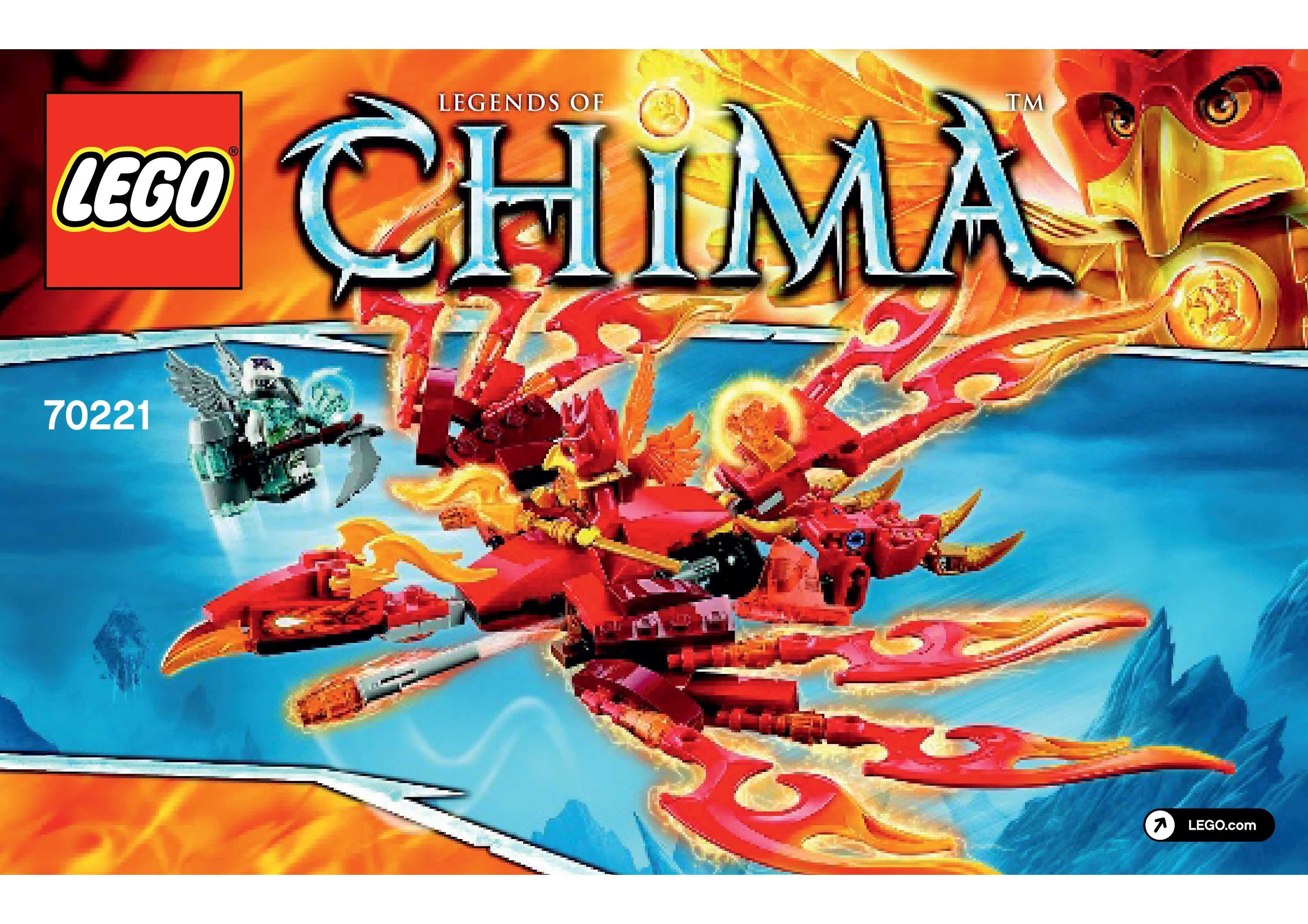 lego chima dragon