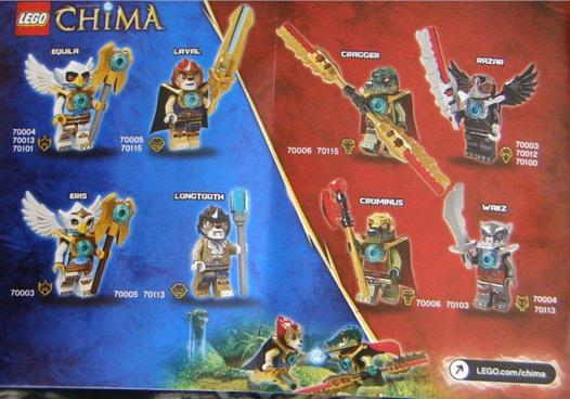 lego chima personnage