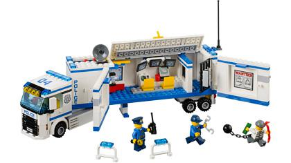 lego city police camion