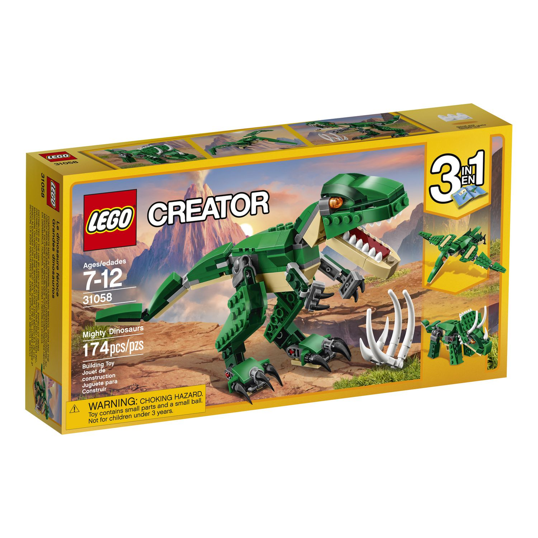 lego creator dinosaure