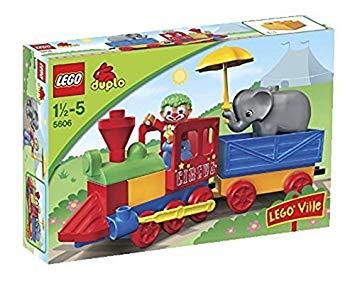 lego duplo circus train