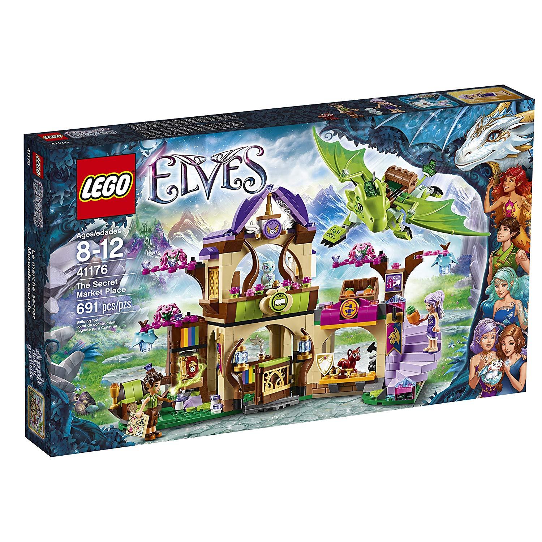 lego elves dragon vert