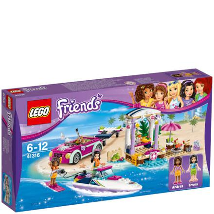 lego friends plage
