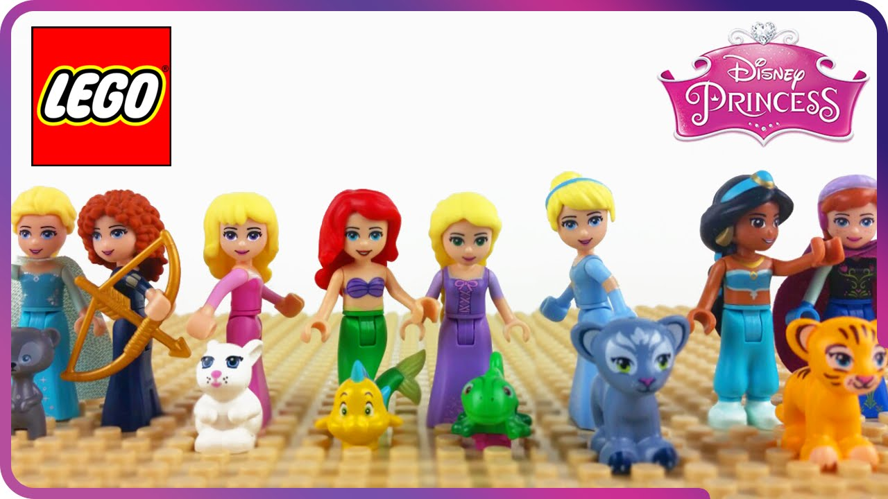 lego friends princesse