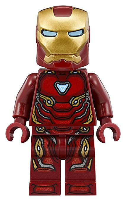 lego marvel iron man