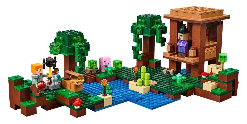 lego minecraft la cabane de la sorcière