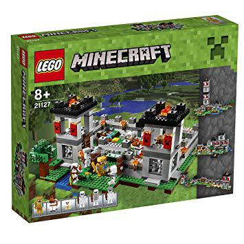 lego minecraft la forteresse