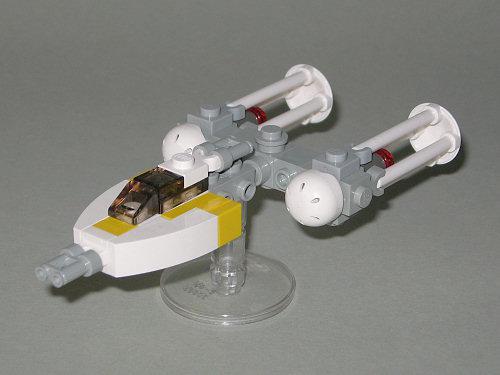 lego mini y wing