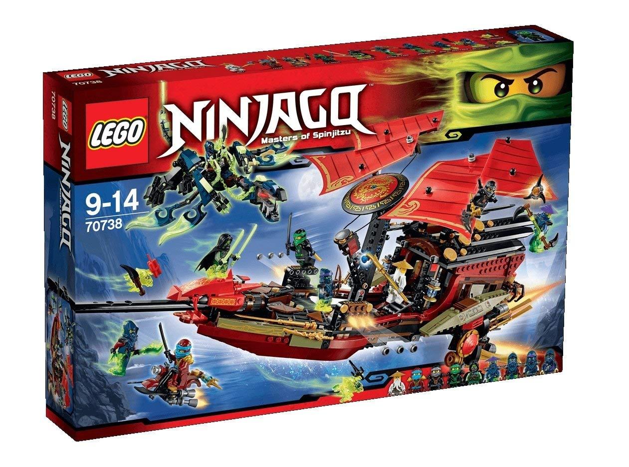 lego ninjago bateau