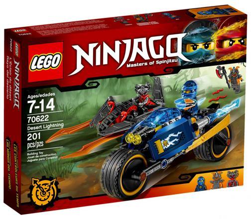 lego ninjago l éclair du désert