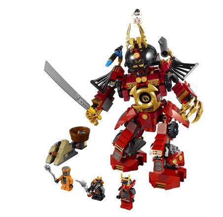 lego ninjago robot samurai