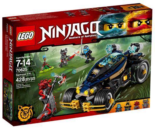 lego ninjago voiture