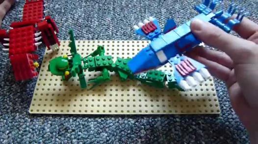 lego pokemon rayquaza