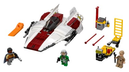 lego star wars a wing