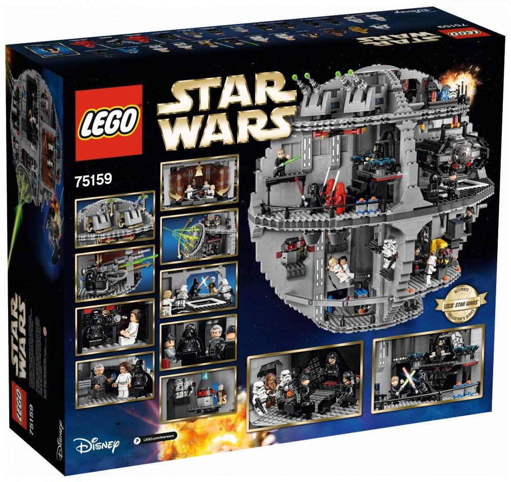 lego star wars étoile de la mort