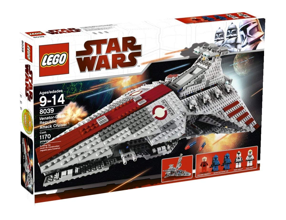 lego star wars vaisseau republic