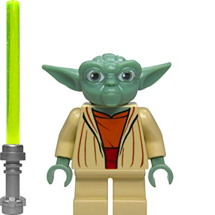 lego star wars yoda figure