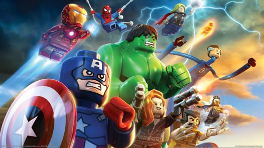 lego superheroes film