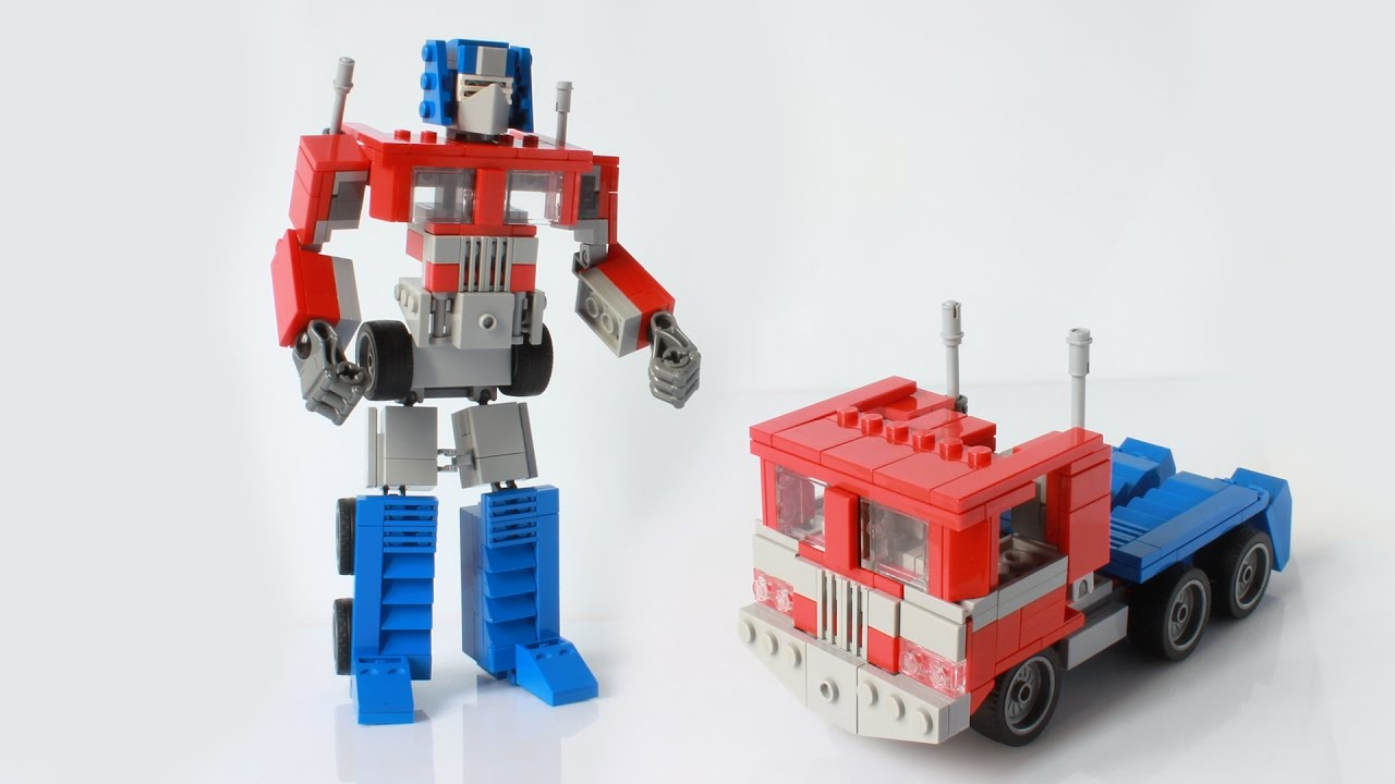 lego transformers optimus prime