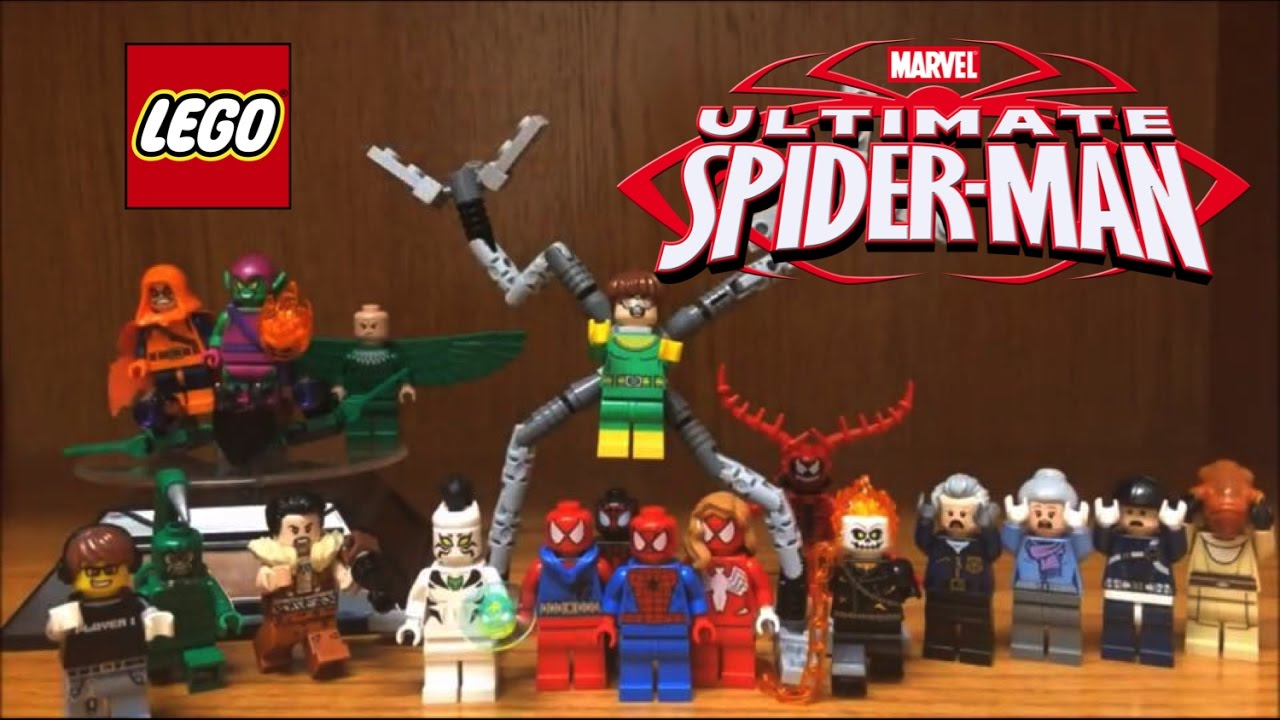 lego ultimate spider man