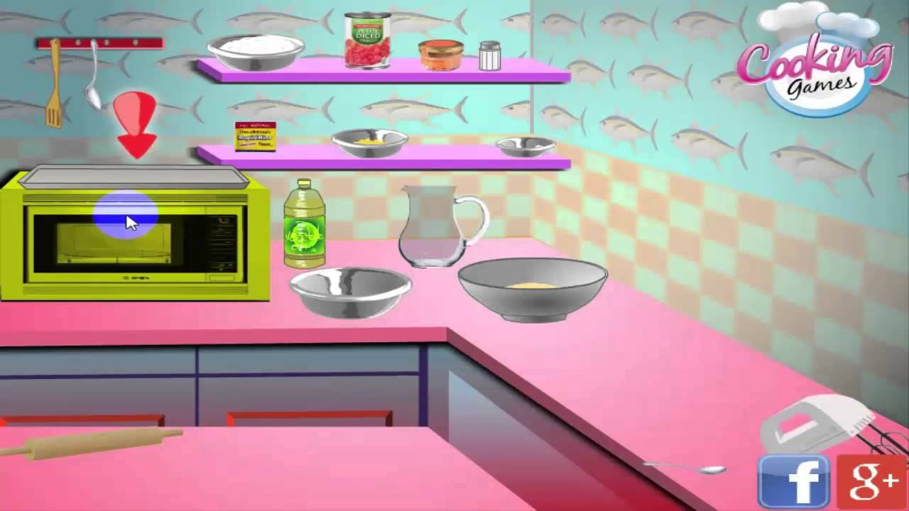 les jeux pour filles de cuisine