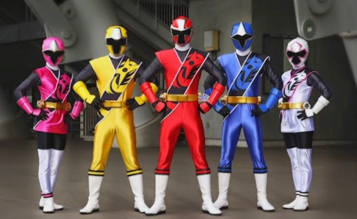 les power rangers ninja steel