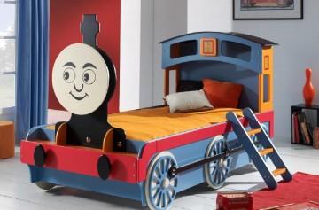 lit enfant rigolo