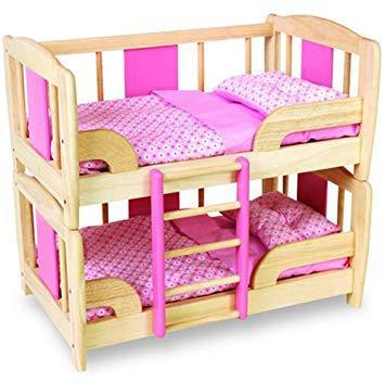 lit superposé pour poupée