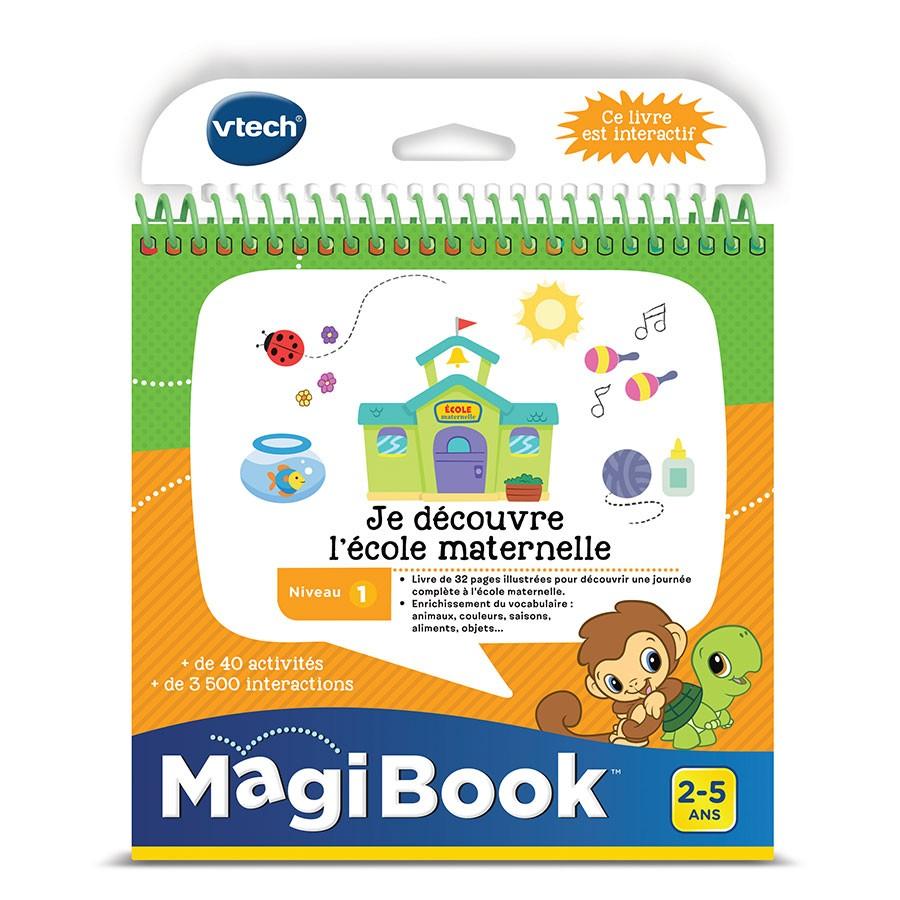 livre magibook vtech