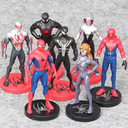 lot figurine spiderman