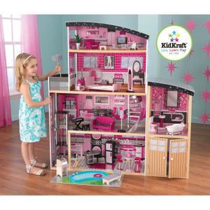 maison bois barbie