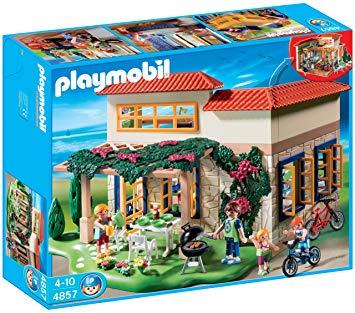 maison de vacances playmobil 4857