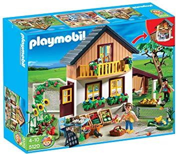 maison des fermiers playmobil