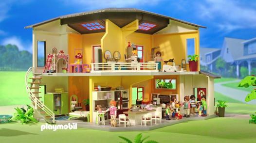 maison playmobil 9266