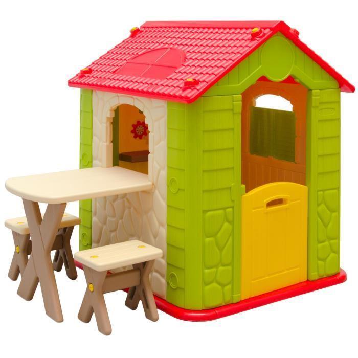 maison pour enfant jardin
