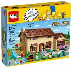 maison simpson lego