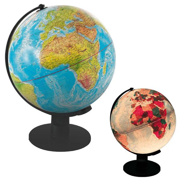 mappemonde globe lumineux