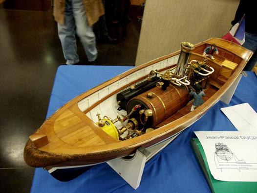 maquette bateau vapeur modelisme