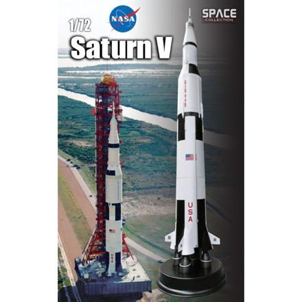 maquette fusée saturn v