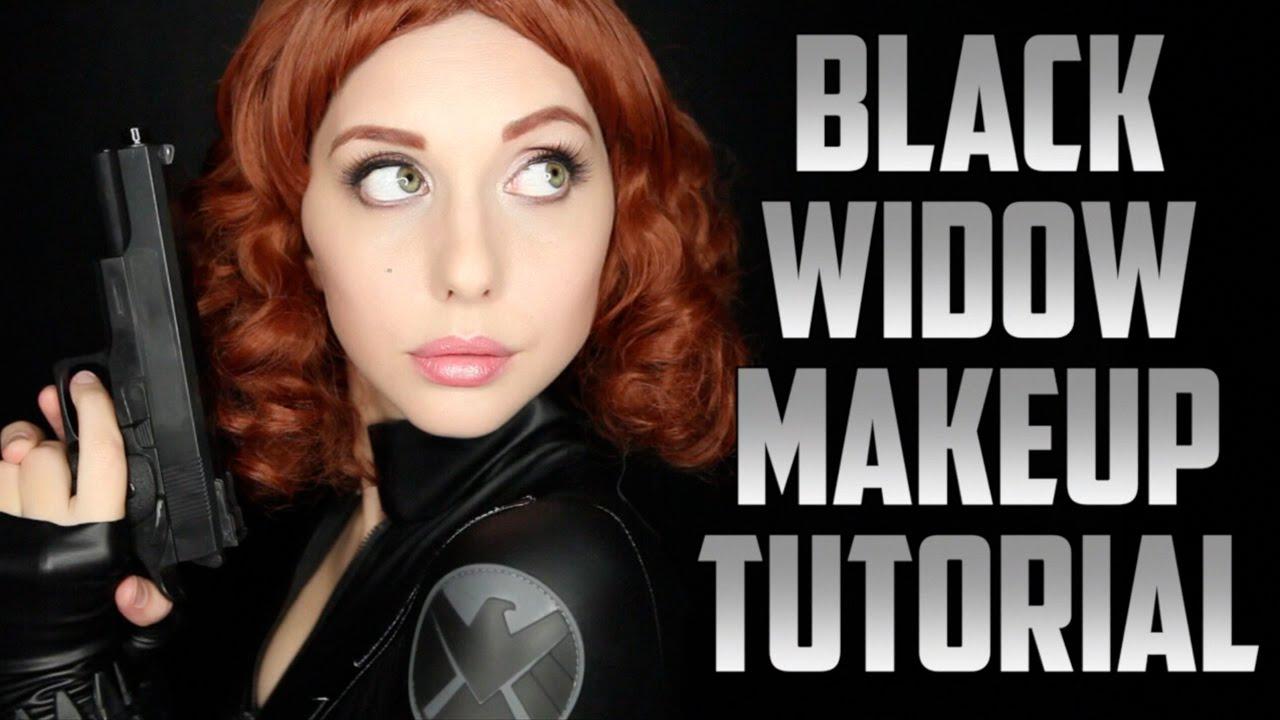 maquillage black widow