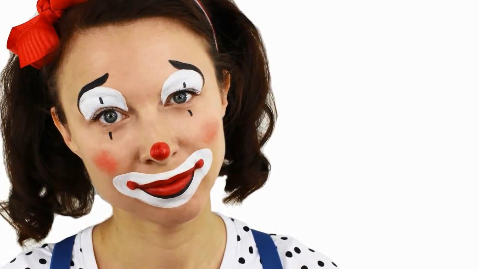 maquillage de clown fille