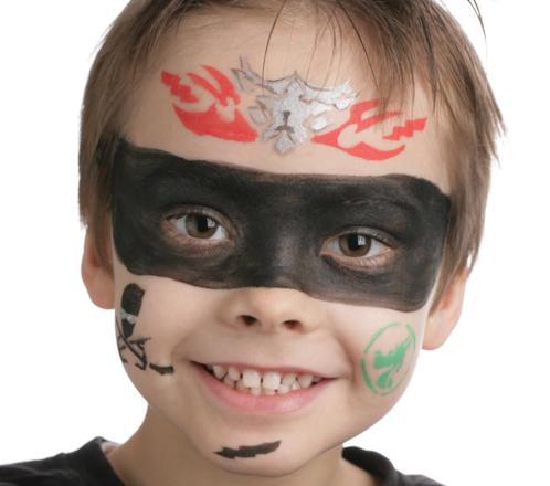 maquillage ninja garcon