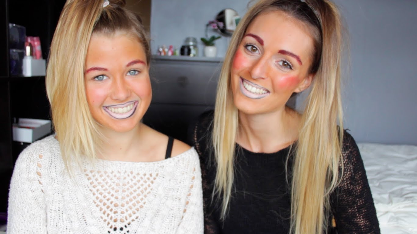 maquillage pile ou face