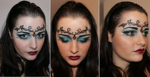 maquillage princesse halloween