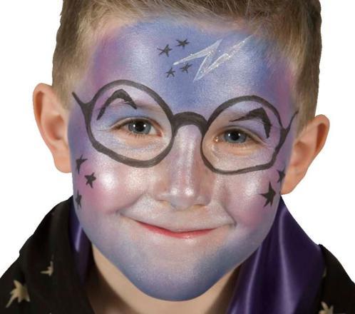 maquillage sorcier garcon